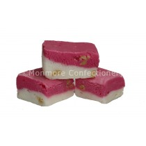 PINK & WHITE NOUGAT (FUDGE FACTORY) 2KG