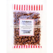 CHOCOLATE FLAVOUR COATED RAISINS (MONMORE) 225g