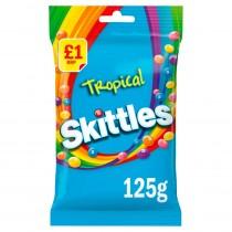 Skittles Tropical £1 PMP 12x125g
