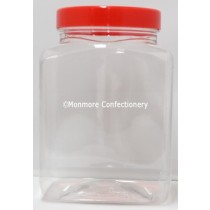 Small Square Jar and Lid 2.5L Image with Watermark