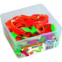 JELLY SNAKES (VIDAL) 60 COUNT