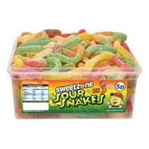 sour snakes 120 count sweetzone