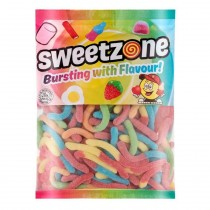Sour Worms (Sweetzone) 1kg Bag