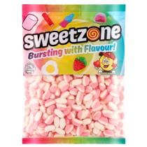 Fizzy Strawberry Puffs (Sweetzone) 1kg
