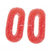 Fizzy Strawberry & Cream Rings (Vidal) 1.5kg