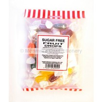 monmore confectionery sugar free fruit drops 125g bag