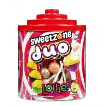 Duo Lollies (Sweetzone) 72 Counts