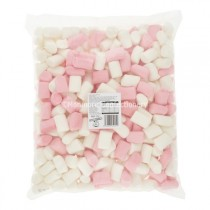 MIGHTY PINK & WHITE MALLOWS (SWEETZONE) 1KG