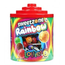 Rainbow Lollies (Sweetzone) 150 Count