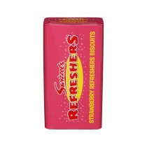 STRAWBERRY REFRESHERS BISCUITS (SWIZZELS) 130G