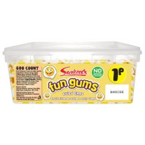 FRIED EGGS FUN GUMS (SWIZZELS MATLOW) 600 COUNT