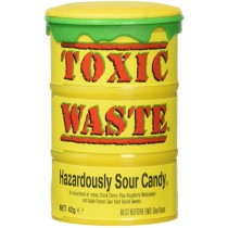Toxic Waste Sour Candy Money Banks 84g
