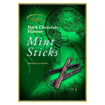 Ashleys Dark Chocolate Mint Sticks Gift Box (Walkers Chocolates) 110g