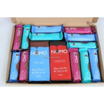 Nomo Variety Vegan Chocolate Bars Selection Box