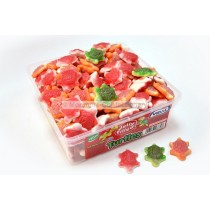 vidal jelly filled turtles 120 count tub