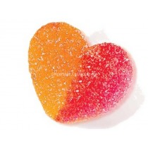 vidal peach hearts tub 120 count