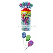 MEGA ZOOM TONGUE PAINTER LOLLY (VIDAL) 50 COUNT