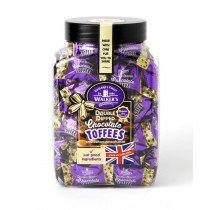 Double Dipped Chocolate Toffees Jar (Walkers Nonsuch) 1kg