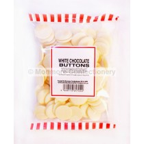WHITE CHOCOLATE FLAVOUR BUTTONS (MONMORE) 200g