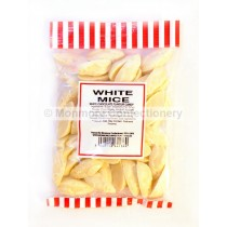 monmore confectionery white mice 225g bag
