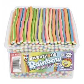 Rainbow Pencils (Sweetzone Pencils) 100 Count
