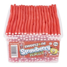 Strawberry Pencils (Sweetzone) 100 Count