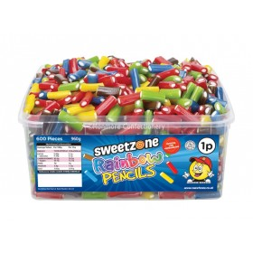 Rainbow Pencils Tub (Sweetzone) 600 Count