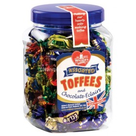 Assorted Toffee Gift Jar (Walkers Nonsuch) 450g