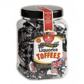 Liquorice Toffee Gift Jar (Walkers Nonsuch) 450g