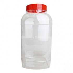 Large Square Jar 4.5L