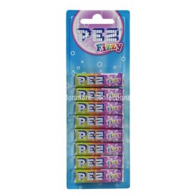 Fizzy Fruit Refills (Pez Candy) Single Pack of 8