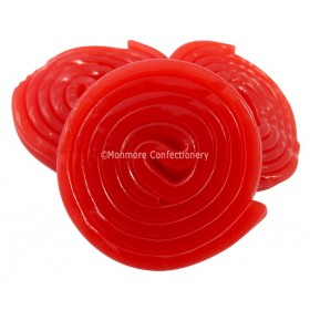 CHERRY LIQUORICE WHEELS 2KG