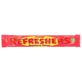 STRAWBERRY REFRESHERS CHEW BARS (SWIZZELS MATLOW) 60 COUNT
