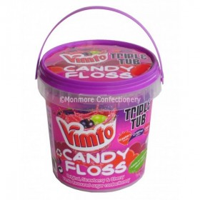 VIMTO CANDY FLOSS 50G TUB (ROSE) 6 COUNT