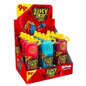 Juicy Drop Pop Candy (Bazooka) 12 Count