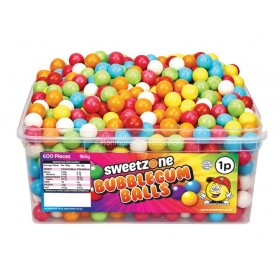 Bubblegum Balls (Sweetzone) 600 Count