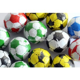 CHOCOLATE FLAVOURED FOOTBALLS (KINNERTON) 3KG