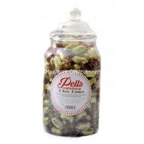 CHOCOLATE LIMES JAR (PELLS) 1.75KG