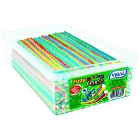 Fizzy Rainbow Pencils (Vidal) 100 Count