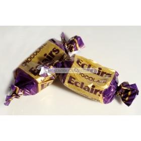 MILK CHOCOLATE ECLAIRS (GLISTEN) 3KG