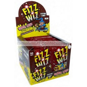 FIZZ WIZ COLA POPPING CANDY (HANNAH`S) 50 COUNT