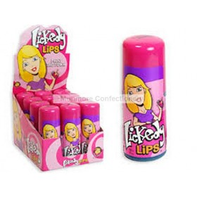 LICKEDY LIPS 60ML (HANNAH'S) 12 COUNT