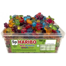 Bear Buddies Tub (Haribo) 120 Count