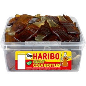 GIANT COLA BOTTLES TUB (HARIBO) 60 COUNT