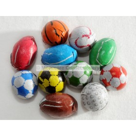 CHOCOLATE FLAVOURED SPORTS BALLS (KINNERTON) 3KG