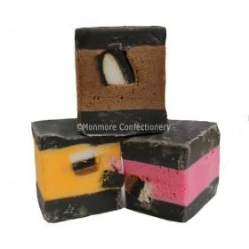 Liquorice Allsorts fudge (Fudge Factory) 2kg