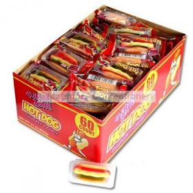 GUMMY HOT DOGS (LUTTI) 60 COUNT