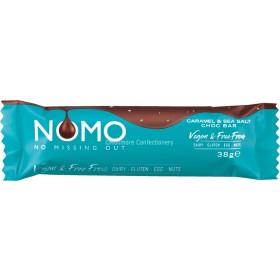 Nomo Caramel & Sea Salt Vegan Chocolate Bar 24 x 38g