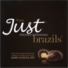 Just Brazils Dark Chocolate (Paynes) 180g