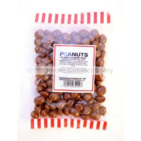 CHOCOLATE FLAVOUR COATED PEANUTS (MONMORE) 225g
